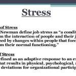 Stress definition – What is stress meaning?
