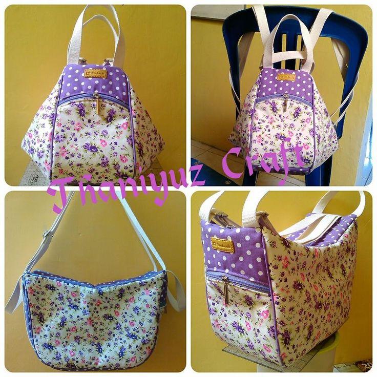 Hybrid Bag 1 tas dengan 4 cara memakainya