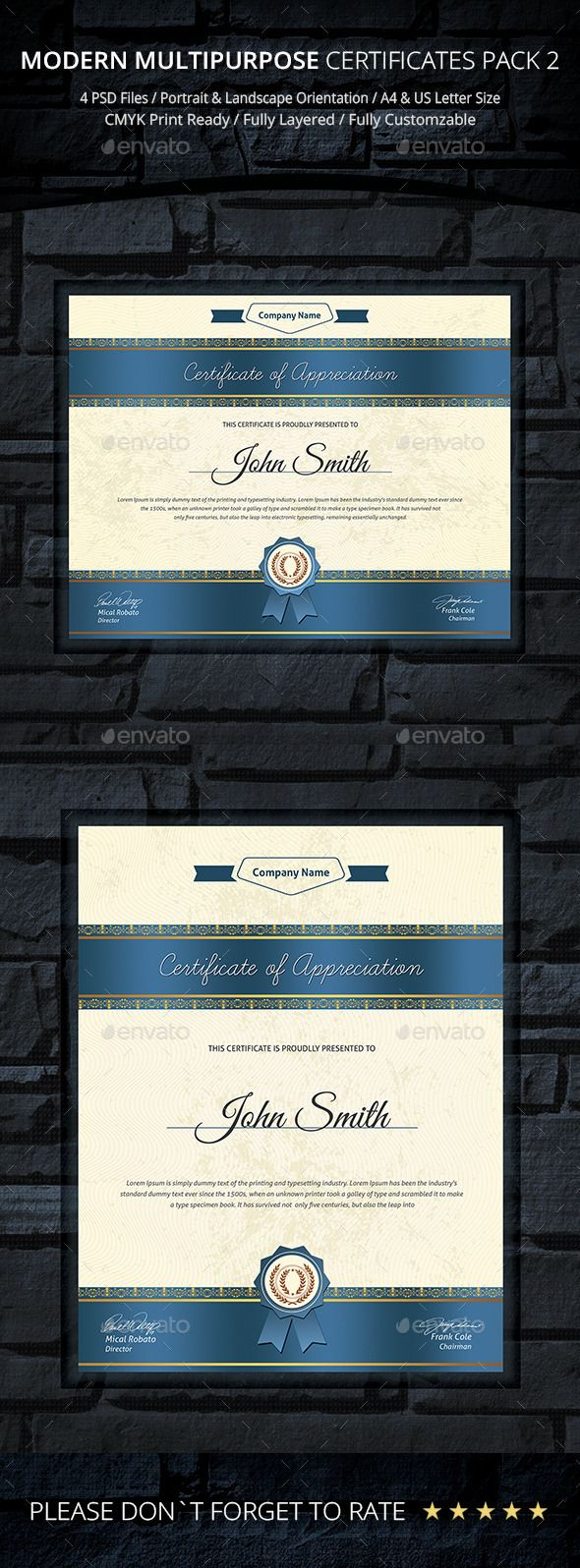 31 best psd templates certificate design images on pinterest psd certificate infographic templatespsd yadclub Choice Image