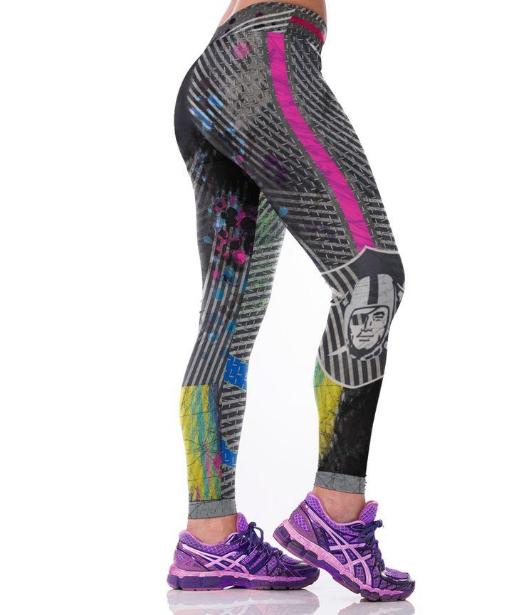3D Print Sportswear Leggings Oakland