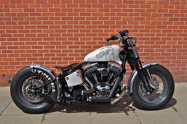 Cachinero Harley Davidson Custom Bobber Motorcycle