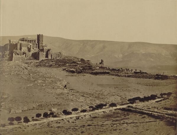 "Extraordinary set of pics: #Athens panoramic view, 1874 (5/6) | ""Vues d'Athènes"" by Pascal Sebah (1823-1886) 