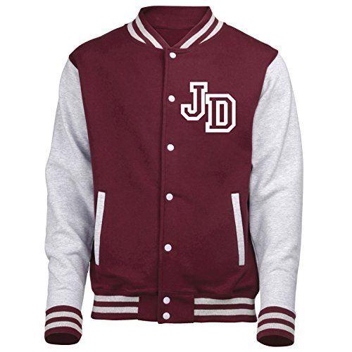 FONFELLA COLLEGE JACKET – Veste de sport – Homme: Premium Quality College souple veste de baseball de style de letterman - 330gsm Poids…