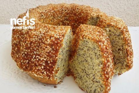 Yumuşacık Susamlı Haşhaşlı Limonlu Kek (Çok Kabaran)