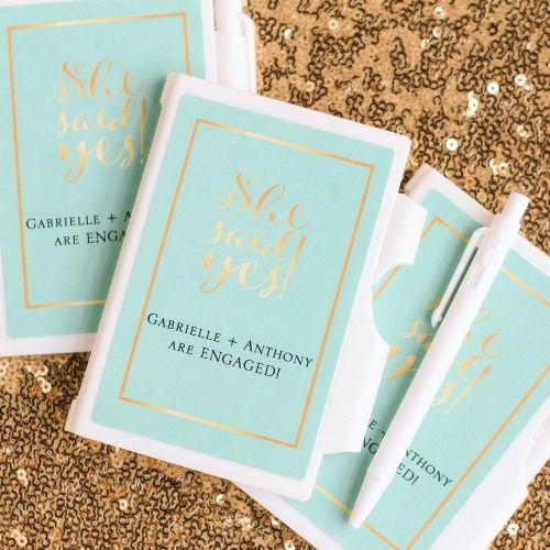 personalized wedding themed notebook