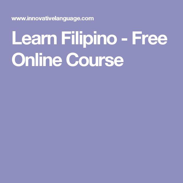 Learn Filipino - Free Online Course