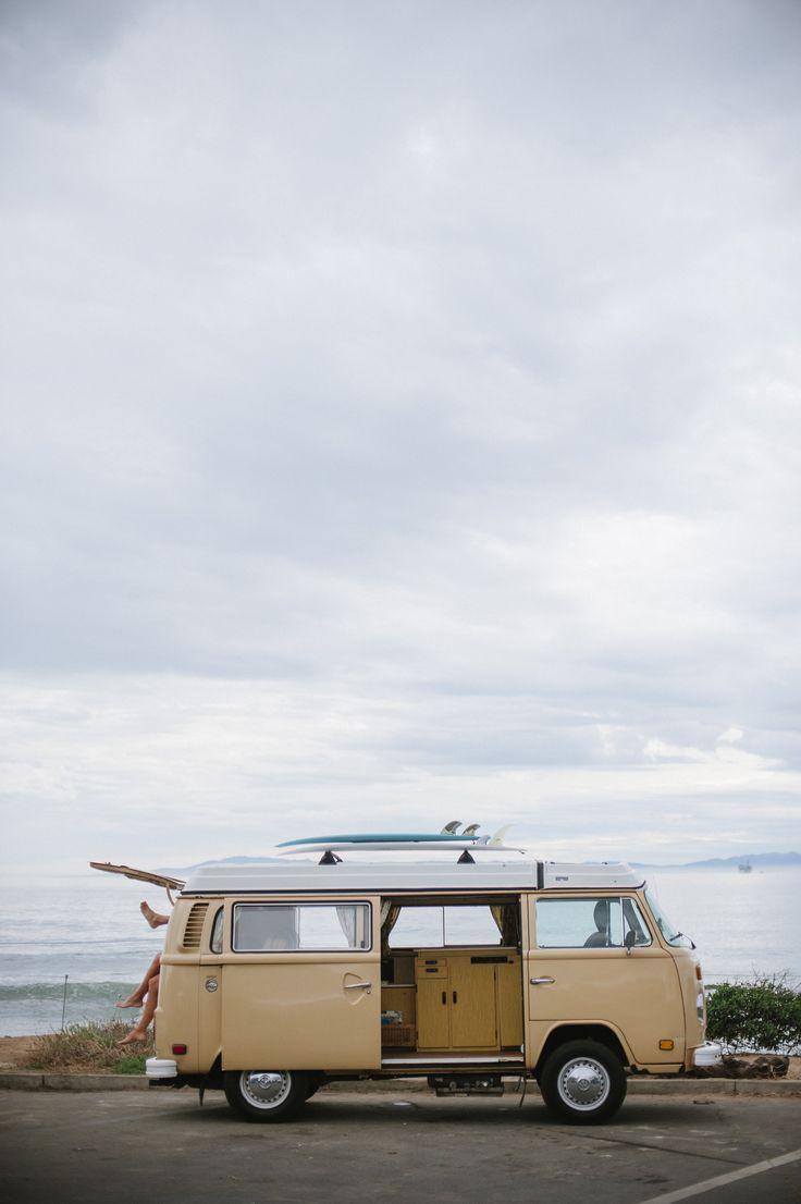California Coast surf trip