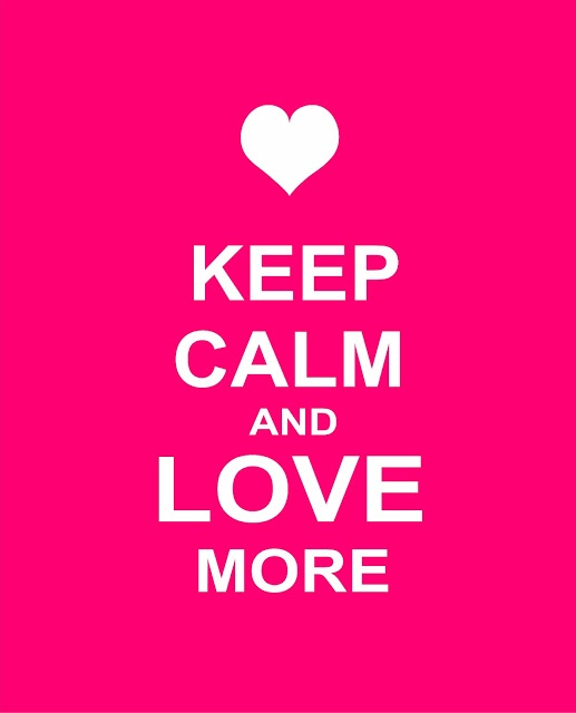 Keep Calm and Love more from Querido Homestyling Store