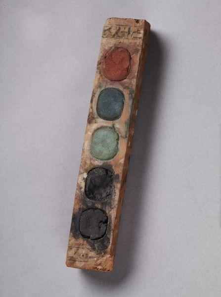 Paint Box of Vizier Amenemope Egypt, reign of Amenhotep II 1427-1401 BC