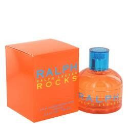 Ralph Rocks Eau De Toilette Spray By Ralph Lauren. Ralph Rocks Perfume by Ralph Lauren, This fragrance has top notes of passion fruit, kiwi, and citrus. Middle notes of freesia, orange blossom, hyacinth, and palm leaves. Base notes of bleached wood, sandalwood, and amber.