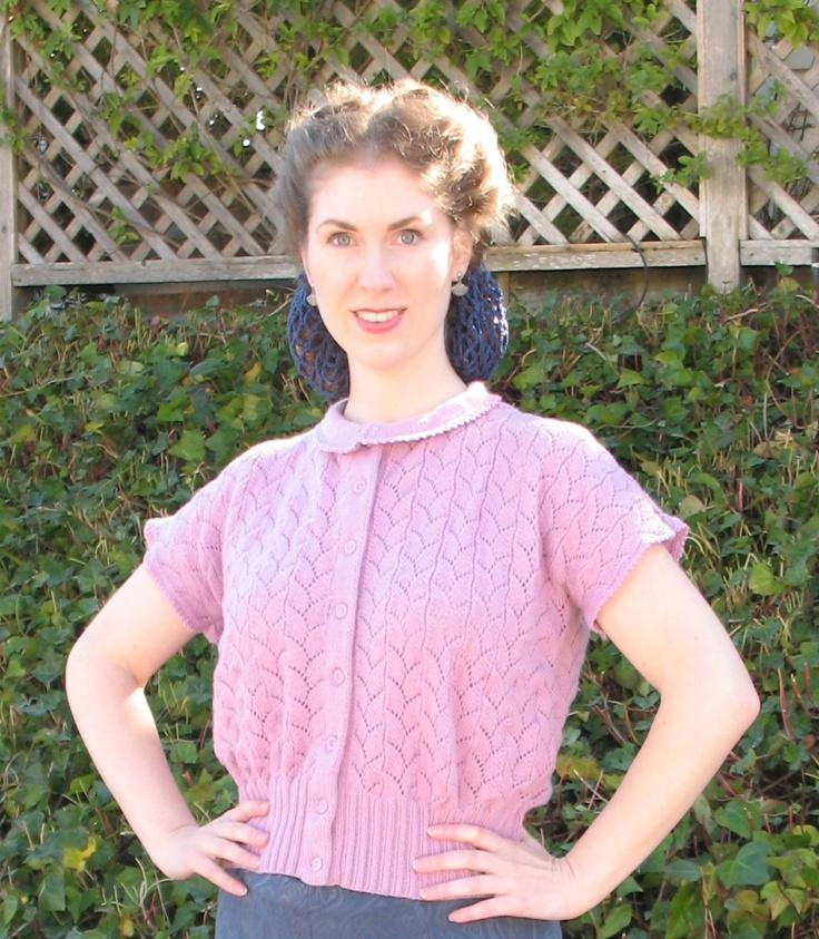 Vintage Knit Lace