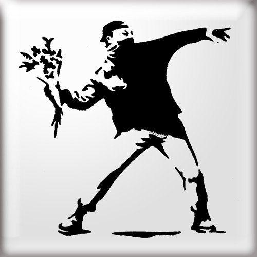 Resultado de imagen para stencil banksy