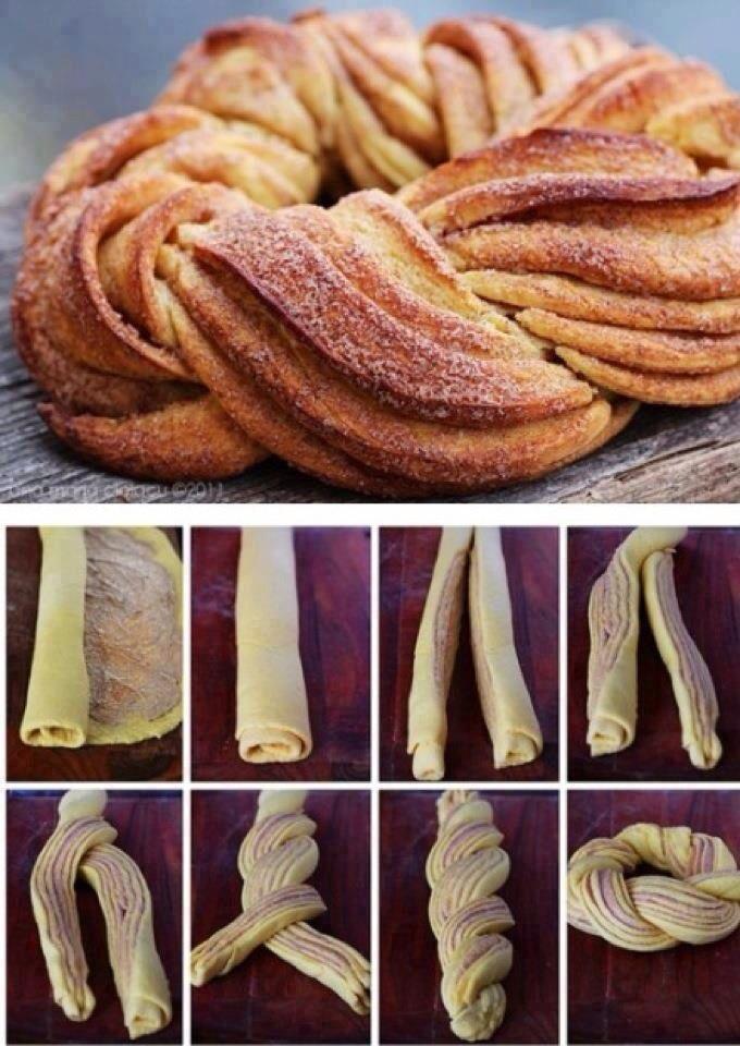 Sej måde at lave kanelsnegle på!