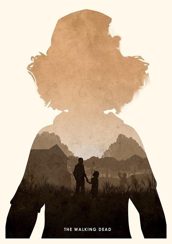 Clementine Twd Posters By Ripley Design Redbubble Walking Dead Art The Walking Dead Lee The Walking Dead Poster