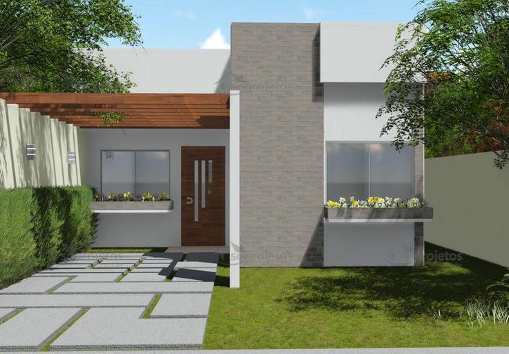 As 25 melhores ideias de projetos de casas terreas no for Casa de dos plantas en honduras