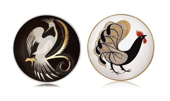 beautiful plates by Waylande Gregory