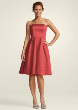 Outlet bridesmaid dresses by davids bridal brides maids for David s bridal clearance wedding dresses