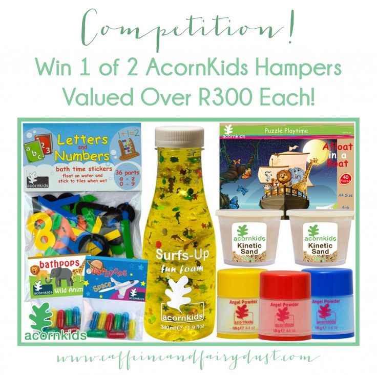 *WIN* 1 of 2 AcornKids Hampers To The Valued Over R300 each! November 19, 2015 by Maz 4 Comments (Edit)
