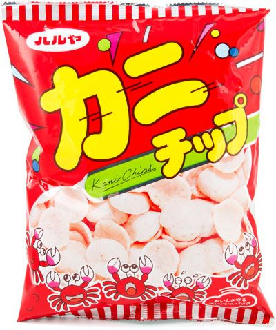 Haruya Kani crab chips (Japan)