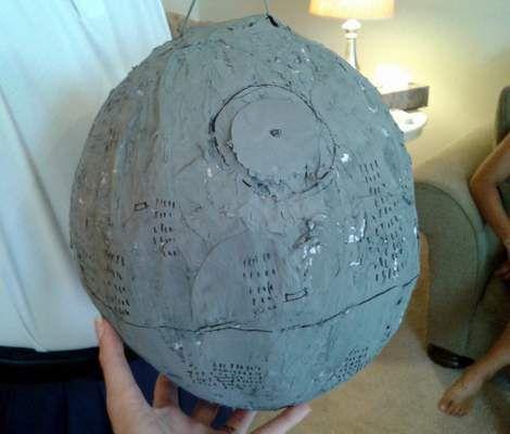 how to make a soccer ball pinata