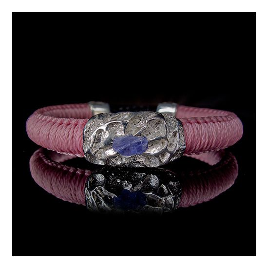 Volkeno Silver with Tanzanite