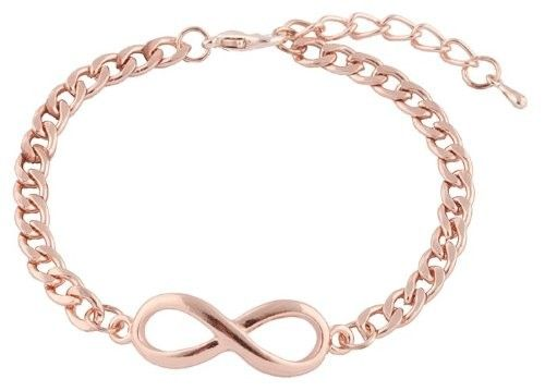 Rose gold Infinity www.babybey.nl