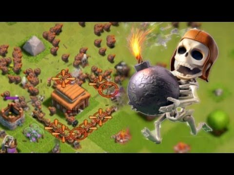 "TROLLING LOW LEVELS! | CLASH OF CLANS | ""DESTROYING A BASE WITH WALLBREAKERS!"