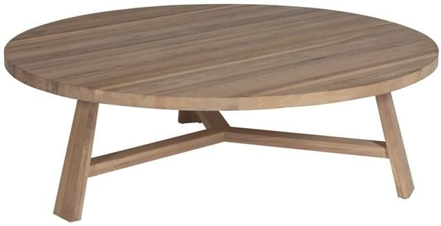 Tripod Coffee Table in Natural Oak