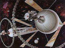 O'Neill Cylinder spacecraft