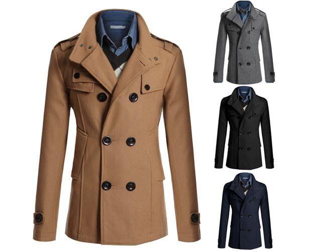Men's Long Overcoat Sale | ... -coat-men-Slim-and-long-sections-man-jacket-Outerwear-Overcoat.jpg