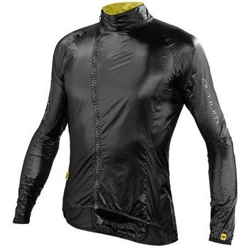 Winter Cycling Gear: The Mavic Helium Jacket is lightweight and perfect for a quick extra layer when the sun drops. $125.