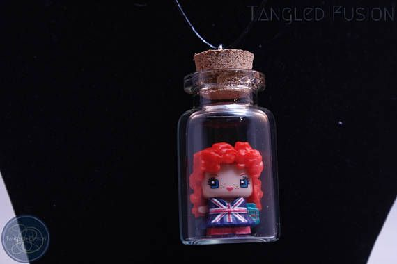Quirky Glass Vial Necklace with MixieQ Figurine on Leather https://www.etsy.com/au/listing/519484162/quirky-glass-vial-necklace-with-mixieq?ref=shop_home_active_20