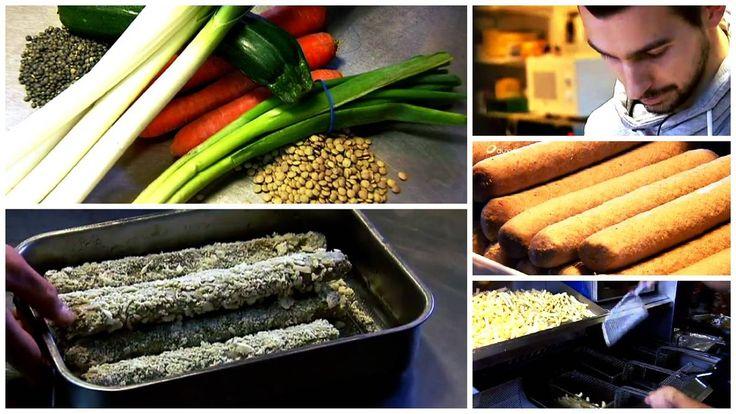 """La lenticadelle, une """"fricadelle"""" végétale qui veut révolutionner les friteries"""