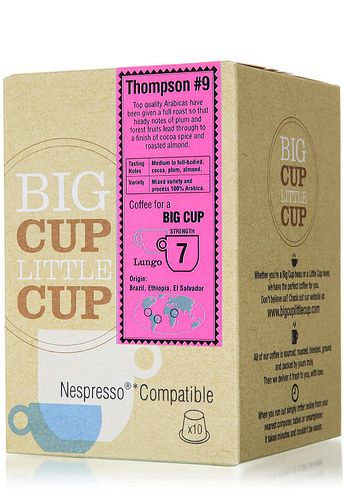 Big Cup Little Cup Nespresso Compatible Coffee Capsules