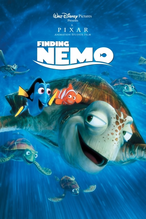 Finding Nemo Poster Artwork - Albert Brooks, Ellen DeGeneres, Alexander Gould - http://www.movie-poster-artwork-finder.com/finding-nemo-poster-artwork-albert-brooks-ellen-degeneres-alexander-gould/