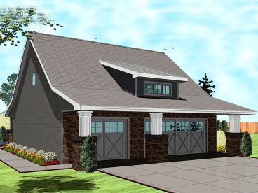 46 best craftsman garage plans images on pinterest for 36 x 36 garage with apartment