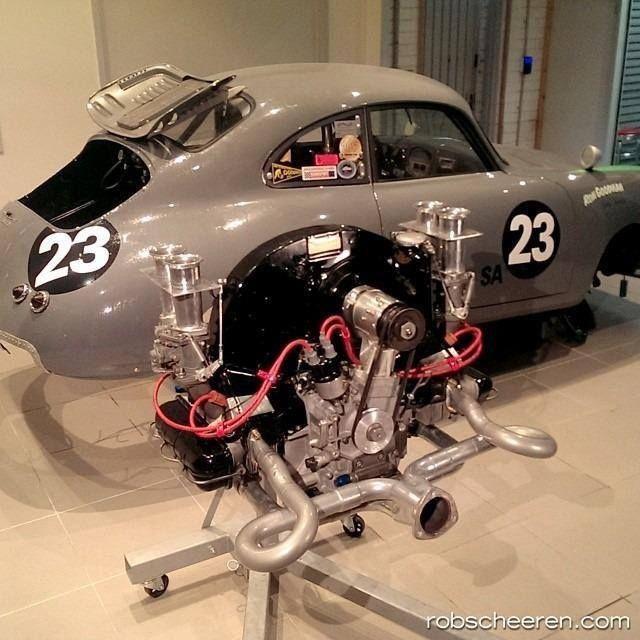 Porsche 911 Engine Vw Beetle: Look At Rear Window Treatment