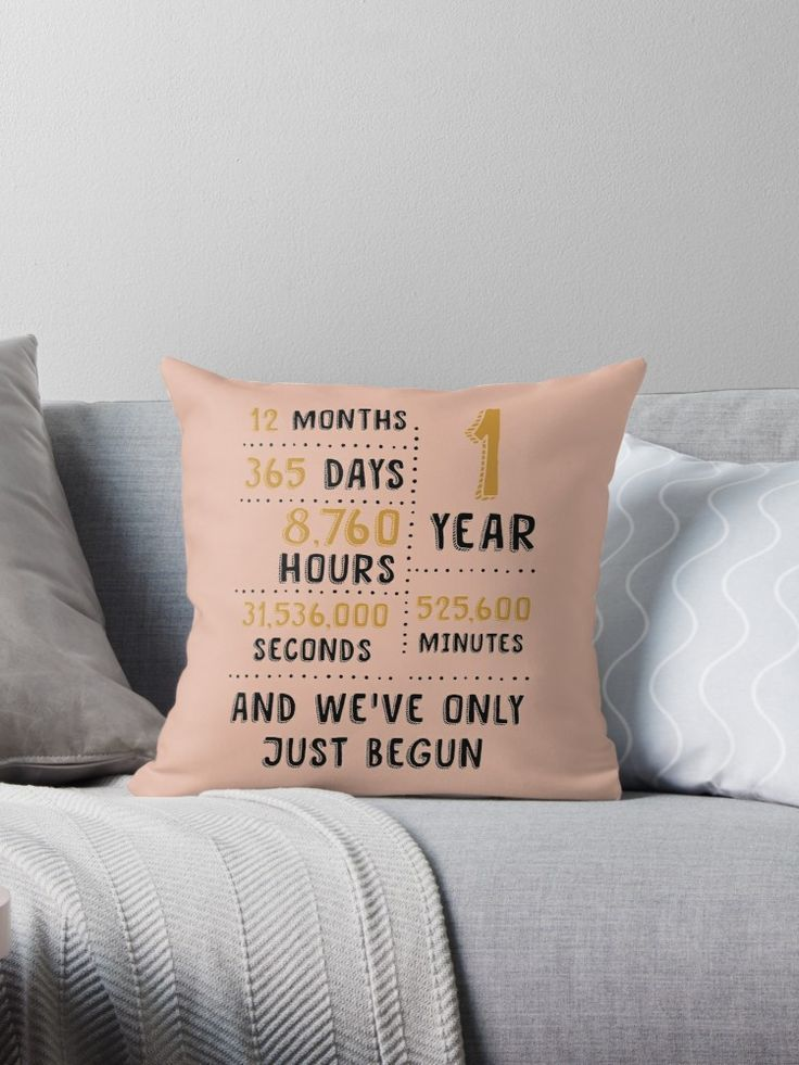 Are You Looking For A Customized Throw Pillow Cover Gift For A Wedding Anniv Anniversary Throw Pillow First Wedding Anniversary Gift One Year Anniversary Gifts