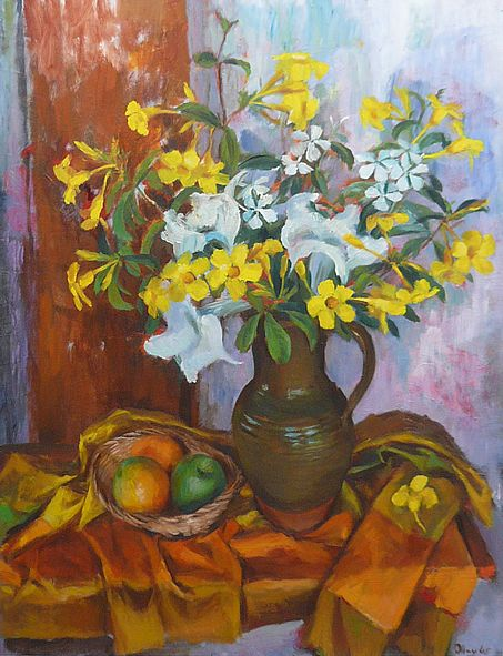Margaret Olley | Still Life 1965 oil on board, 101 x 75 cm