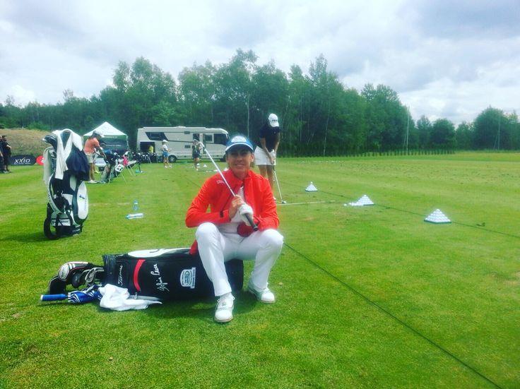 Stefania Croce indossa #Raimondi alla Ladies European Tour 2016 #raimondigolfshoes #golf #shoes #golfshoes #italianstyle #handmadeinitaly #italy #originali #madeinitaly #stefaniacroce