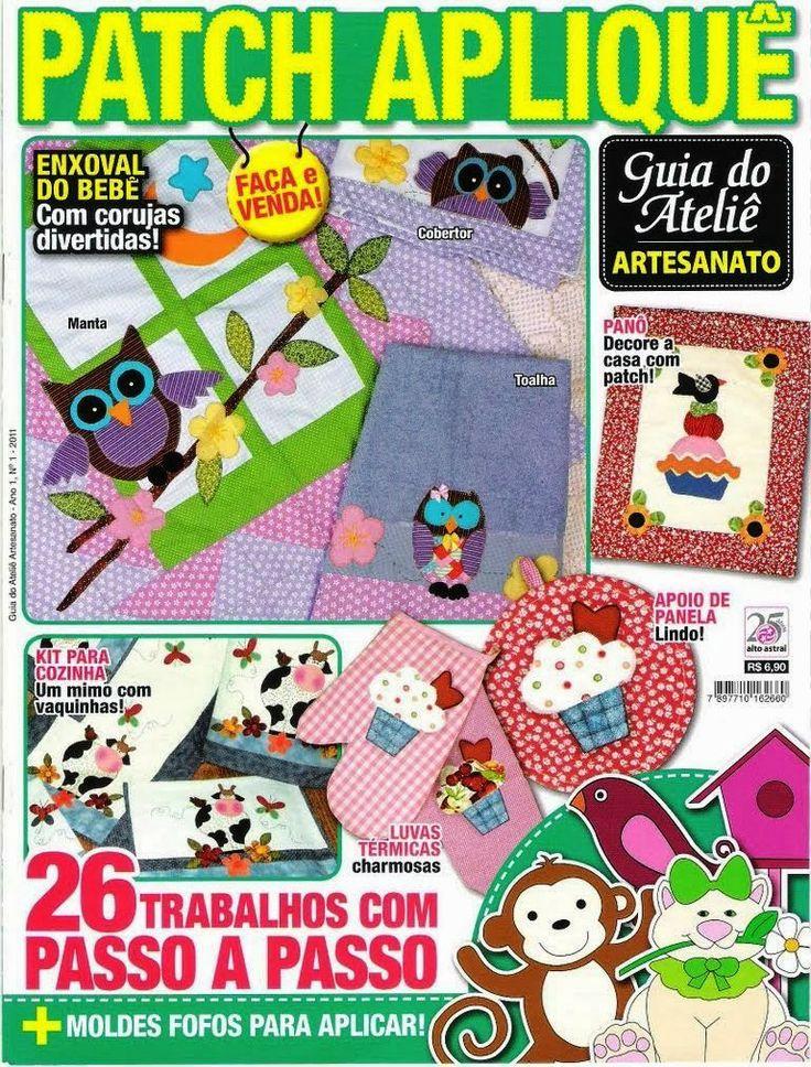 Revistas Grátis Artesanato: Revista patchwork
