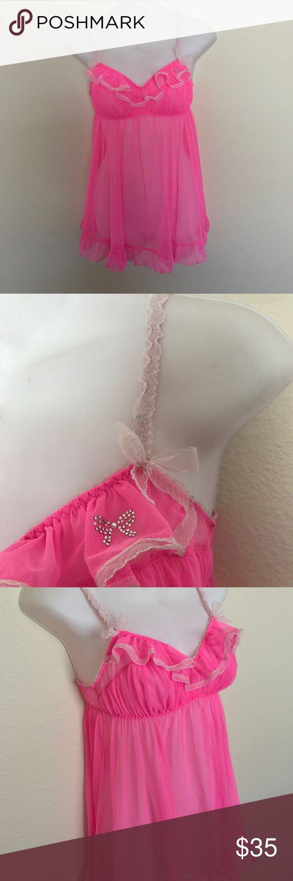 Victoria Secret Woman teddy babydoll SZ M Pink Victoria Secret Woman teddy babydoll SZ M Pink Victoria's Secret Intimates & Sleepwear