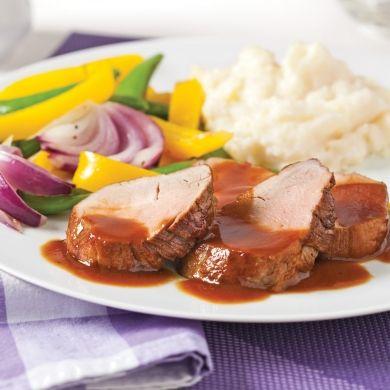 Filets+de+porc+à+la+bière+et+mélasse+-+Recettes+-+Cuisine+et+nutrition+-+Pratico+Pratique
