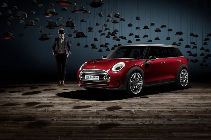his 2014 Mini Clubman Concept also has some great features which are also matching for the all the family members needs of a together journe...