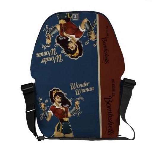Wonder Woman Bombshell Courier Bag