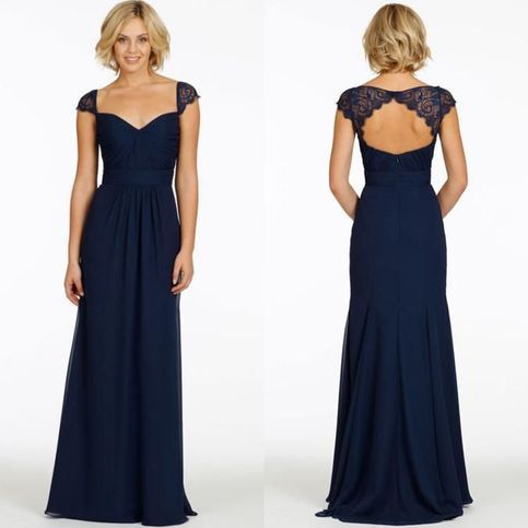 The+navy+bridesmaid+dress+are+fully+lined,+8+bones+in+the+bodice,+chest+pad+in+the+bust,+lace+up+back+or+zipper+back+are+all+available,+total+126+colors+are+available.+ Most+brides+order+all+bridesmaid+dresses+at+a+time,+we+recommend+this+way,+firstly,+we+could+use+the+same+roll+material+to+make...