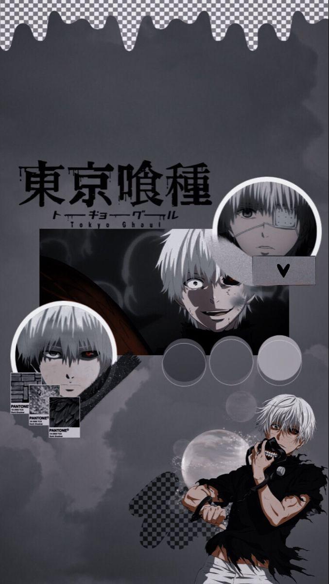 Lock screen kaneki ken wallpaper iphone