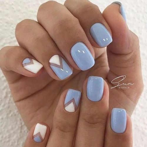 Summer Nails Dark Ideas Nail Designs Spring Blue Nails Spring