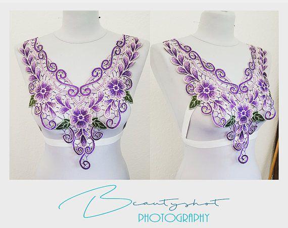 Wunderschöner Harness Dessous für Fotoshootings uvm. Spitze Collar