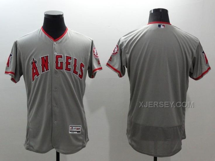 http://www.xjersey.com/angels-blank-grey-flexbase-jersey.html ANGELS BLANK GREY FLEXBASE JERSEY Only $35.00 , Free Shipping!